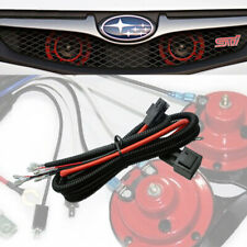 12V Horn Wiring Harness Relay Kit For Car Truck Grille install Blast Tone Horn (Fits: Subaru)