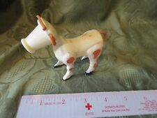 Vintage Fisher Price Little People Cow Farm Western Brown White 915 Bovine cute