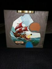 2006 Mattel Matchbox Pirate Ship Island Folding Portable Carry Case Pop Up