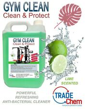Gym Equipment Cleaning Solution - Anti-Bacterial Sanitizer - Lime - 5L