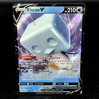 Eiscue V - SWSH Rebel Clash 055/192 - Half-Art Holo Rare Pokemon Card