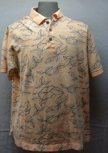Hawaiian Tropic Size X Large Short Sleeve Hawaiian  Polo Type Men's Shirt