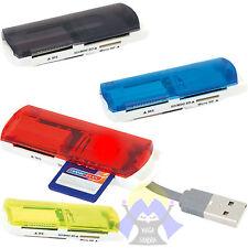 LETTORE Carte SD MicroSD Cards PRO Duo MS Adattatore USB 2.0 Flash MEMORY MiniSD