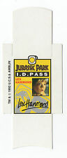 Bassett Barratt Jurassic Park Candy stick slide mint unfolded Lex Hammond ID