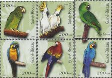 Guinée-bissau 1422-1427 neuf avec gomme originale 2001 Oiseaux
