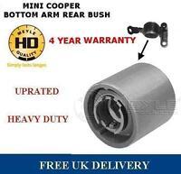 FOR MINI COOPER ONE S FRONT LOWER SUSPENSION WISHBONE ARM REAR BUSH HEAVY DUTY