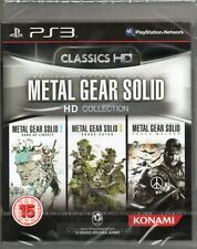 METAL GEAR SOLID: HD COLLECTION (Three games included) PS3 ~ NEW / SEALED