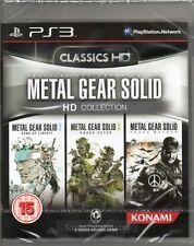 METAL Gear Solid: HD Collection (trois jeux inclus) ps3 ~ Nouveau / scellé