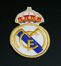 """""""Real Madrid"""" FC Logo Brand New Sew/Iron on Patch Badge"""