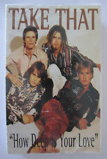 TAKE THAT HOW DEEP IS YOUR LOVE BRAND NEW ULTRA RARE OZ RELEASE CASSINGLE TAPE