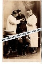 1920/30-s  SOLDIER DENTIST ORIGINAL PHOTO ESTONIA ESTONIAN ARMY MILITARY
