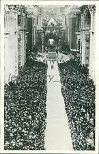 1937 St. Peter's Cathedral on Easter Sunday Original News Service Photo