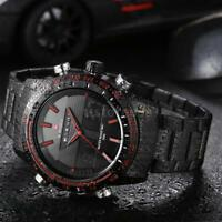 NAVIFORCE Stainless Steel Fashion Wristwatch Quartz Sports Men Watch US+Box