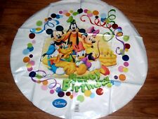 "18"" Feuille Ballon Joyeux Anniversaire Disney Mickey Mouse & Friends in retail package"
