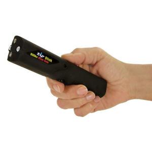 Zap Stick - Runners/Walkers 800,000 Volt Stun Device with Flashlight - BLACK