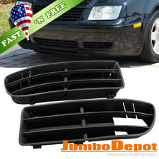 US For 1999 - 2004 VW Jetta Bora Front Bumper Insert Lower L & R Side Grille