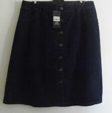 Lovely Ladies Blue Demin Skirt By *avella* Size 18- BNWT