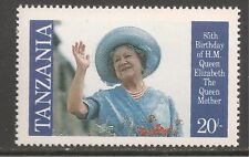 Tanzania #267 (A43)  VF MNH - 1985 20sh Queen Mother Waving, 85th Birthday