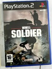 WWII: Soldier, PS2 PlayStation 2 Games - Posted Same Day