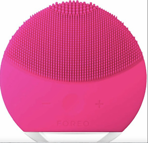 FOREO LUNA Mini 2 Sonic Skin Cleaning Facial Beauty Brush - Pink