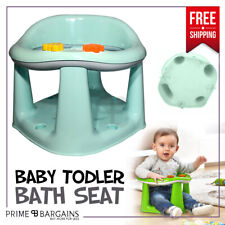 Baby Infant Toddler Kids Bathing Bath Food Dining Play 3 in 1 Support Seat Chair Green