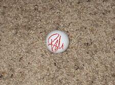 RYAN MOORE Autographed Taylor Made Golf Ball-PGA