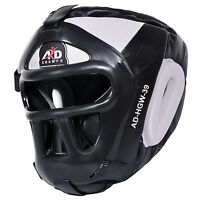 ARD CHAMPS™ Protector Guard Wrestling Helmet Head Gear Boxing MMA Rugby- White