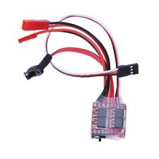 RC ESC Brush Motor Speed Controller with Brake for RC Car Boat Tank Control 20A
