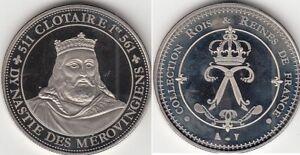 Médaille contemporaine Française Clotaire I 511-561
