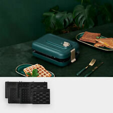 Xiaoyu 와플메이커 / Green / 샌드위치기 토스터기 / 분리가능 판 / 3종 플레이트 세트