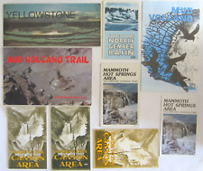 Vintage Yellowstone National Park Brochures, Booklets, Guides, Maps, Trails