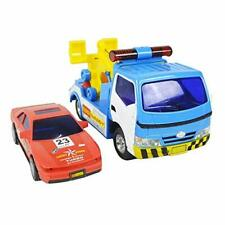 Big Daddy Police Wrecker Truck And Toy Car Combo Set Tow Truck Toy Includes
