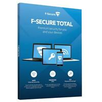 F-Secure Total Security 2021 & Privacy VPN 3PC 5PC / Device / 1Year