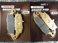 Front Brake Pad Set Semi Metal Kawasaki KLE 650 C Versys LE650C 2014