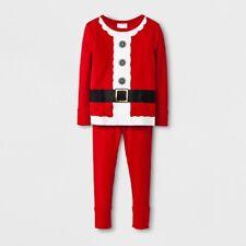 Baby Boys Christmas Santa Claus Red 2-Piece Pajamas Outfit Set Wondershop, 12M