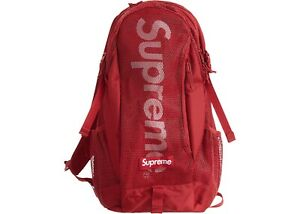 Supreme Backpack SS20 Red