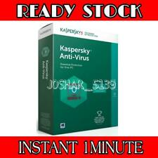KASPERSKY ANTIVIRUS 1PC/MAC 2YEAR GLOBAL KEY WORLWIDE INSTANT DELIVERY