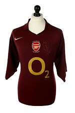 Robert Pires Signed Shirt Arsenal Autograph Highbury Home Jersey Memorabilia COA