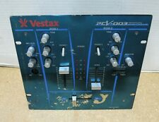 Vestax PCV-003 Professional DJ Mixer Mixing Controller Tested & Working