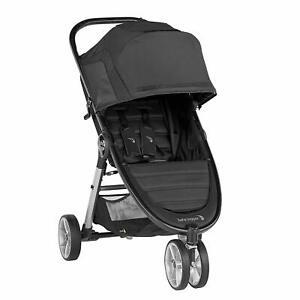 Baby Jogger City Mini 2 Single Stroller - Jet - New! Free Shipping!