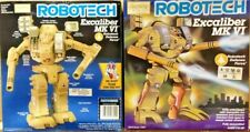 Harmony Gold Robotech Macross Excaliber Mk VI Robot action figure box set
