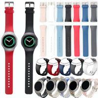Sport Silicone Strap Wrist Watch Band For Samsung Galaxy Gear S2 BSM-R720 S&L BE
