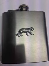Tiger PP-A09 English Pewter 6oz Stainless Steel Hip Flask