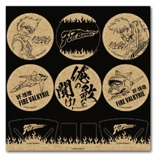 Macross 7 Character Collab Dining Cork Coaster Collection Anime Art Set of 6