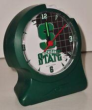 Ergonomic Alarm Clock by Sun Time – Michigan State Alarm Clock! BRAND NEW!