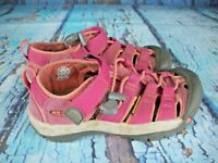 Keen Newport H2 Pink Waterproof Sport Sandals Shoes Youth Girl's Size: 1