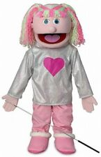 Silly Puppets Kimmie (Pink) 25 inch Full Body Puppet
