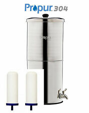 """Propur BIG 304 STAINLESS + 2 PROONE 7"""" FILTERS SCRATCH & DENT SALE SAVE $88.75!"""