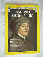 National Geographic Magazine July 1975 Benjamin  Franklin e5fab4ae7322