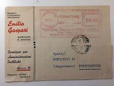ITALIA 1949 - affrancatura meccanica rossa